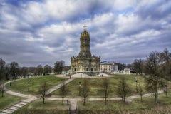 Église de Vierge Marie de signe chez Dubrovitsy Image stock