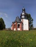 Église de village dans le Taunus Image stock