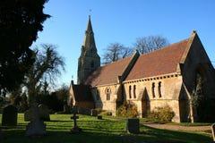 Église de village de Souldrop. Image stock