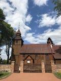 Église de village en Pologne, Brzezno Szlacheckie photo stock