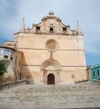 Église de ville Image stock