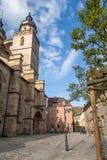 Église de ville de Bayreuth Images stock