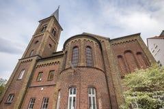 église de ville de duesseldorf Allemagne de kaiserswerth photo stock