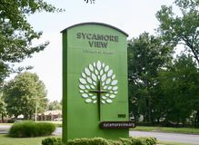 Église de vue de sycomore du Christ, Memphis, TN Image stock