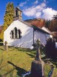 Église de Wythburn, Thirlmere, Cumbria Photos stock