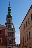 Église de Zamosc Image libre de droits