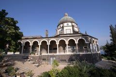Église des béatitudes, Galilée, Israël Photographie stock libre de droits