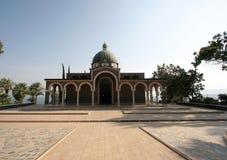 Église des béatitudes, Galilée, Israël Images stock