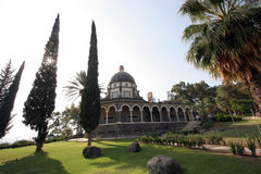Église des béatitudes, Galilée, Israël Photos stock