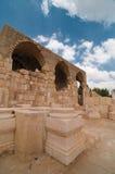 Église des croisés dans Beit Guvrin Photos stock