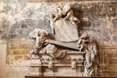 Église des Frances de St Trophime Arles Provence Image libre de droits