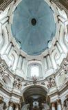 Église dominicaine antique à Lviv, Ukraine La splendeur et le luxe photos libres de droits