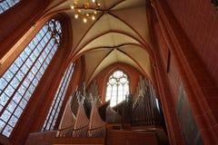 Église du ¼ Œ d'interiorï d'église à Paris photo libre de droits