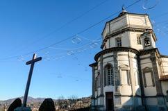 Église du Cappuccini, Turin Italie Images libres de droits