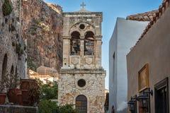 Église du Christ dans les chaînes Christos Elkomenos - Monemvasia - Péloponnèse, Grèce photo libre de droits