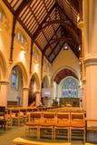 Église du Christ - Nave Photo stock
