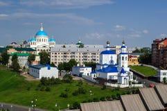 Église du grand martyre saint Paraskeva Friday au centre de Kazan photographie stock