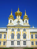 Église du grand palais, Peterhof, Russie Photo stock