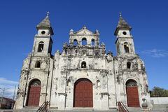 Église du Nicaragua photographie stock libre de droits