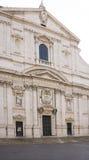 Église du nom saint de Jésus, l'église principale de jésuite à Rome Images libres de droits