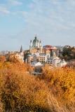Église du ` s de St Andrew à Kiev photos libres de droits