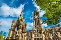 Église du ` s de St Ann à Manchester, Angleterre Image libre de droits