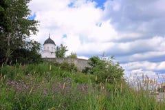 Église du ` s de St George dans la forteresse de Ladoga Russie Photo libre de droits
