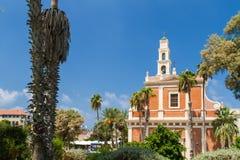 Église du ` s de St Peter, vieux Jaffa dans le téléphone Aviv Yaffo, Israël photo stock