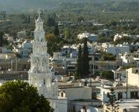 Église du saint Micheal Archangel dans Archangelos photos stock