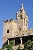 Église du sauveur, Ejea (Espagne) Image libre de droits