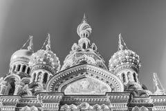 Église du sauveur sur le sang renversé, St Petersburg, Russie Photographie stock libre de droits