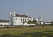 Église du St Francis dans Goa, Inde Photographie stock