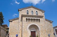 Église du St Lucia. Amelia. L'Ombrie. L'Italie. Image stock
