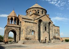 Église Echmiadzin Arménie de Hripsime de saint images stock