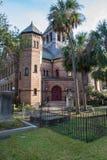 Église en assemblée circulaire Charleston South Carolina images libres de droits
