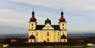 Église en Bohême du sud Photos stock