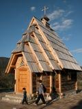 Église en bois Images libres de droits