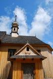 Église en bois Photographie stock