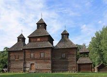 Église en bois Photos libres de droits