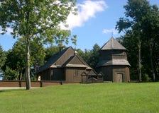 Église en bois Photos stock