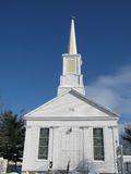 Église en bois blanche photos libres de droits