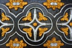 Église en bois de Kontum, cathédrale antique, héritage Images libres de droits