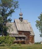 Église en bois de Saint-Nicolas photo libre de droits