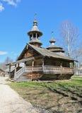 Église en bois orthodoxe antique Image libre de droits
