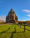 Église en bois reconstituée photo libre de droits