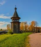 Église en bois reconstituée image libre de droits