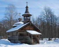 Église en bois russe Photographie stock