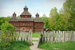 Église en bois, Ukraine Image stock