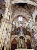 Église en colline de Bana chez le Vietnam Photo stock