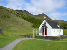Église en Islande Photo stock